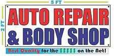AUTO REPAIR & BODY SHOP Banner Sign NEW Larger Size Best Quality for The $$$