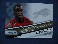 2010 Prestige R/C Marcus Easley Buffalo #269 extra point's #148/250 $1 S&H NFL