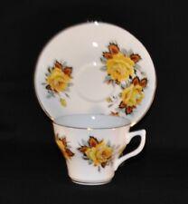 Vintage ROSINA Tea Cup & Saucer Set - Made in England