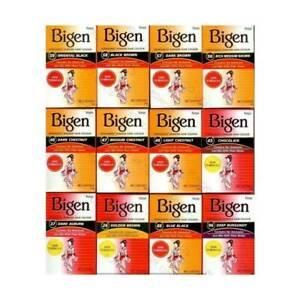 Bigen   Permanent Powder Hair Colour (6g) ALL COLOURS