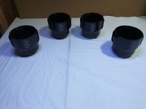 Sorvall 11788 Centrifuge Swing Bucket set of 4. Good condition.