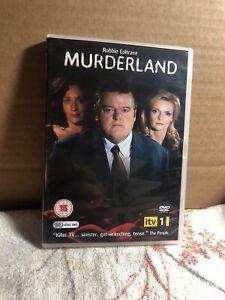 Murderland DVD (2010) Robbie Coltrane - 2 discs