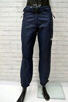 Pantalone da Neve COLMAR Uomo Taglia Size 42 Jeans Pants Man Blu Nero Regular
