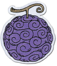 **License** One Piece Luffy's Gomu Gum-Gum Devil Fruit Logo Iron On Patch #44657