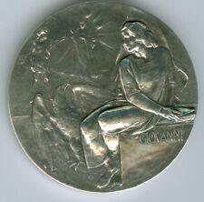 Vatikan 2009  Silbermedaille Die Evangelisten - Heiliger Johannes aus PP-Satz