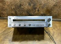 Vintage LXI Series Silver Face am / fm Stereo Receiver ~ Sears Roebuck Co