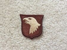 Desert TAN> 101st Airborne / Air Assault patch (NO Airborne Tab)