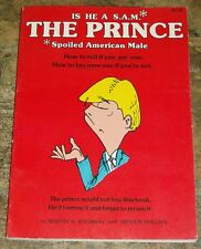 Vintage 1979 THE PRINCE Martin A Ragaway Arthur Phillips Paperback Cartoon Humor