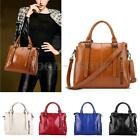 Women Leather Handbag Shoulder Bag Tote Messenger Crossbody Ladies Satchel Purse