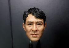1/6 Jet Li Head Sculpt Enterbay Bruce Lee Expendables Barney Hot Toys Body Pants