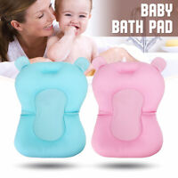 Baby Bath Tub Pad Lounger Pillow Air Cushion Shower Net Infant Bathtub Non-Slip