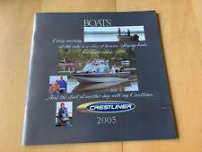 2005 Crestliner Boats Catalog Sportfish Serenity Tournament Fish Hawk Angler