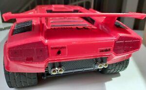 Taiyo Dickie RC Lamborghini Countach LP500S 31 Km/h Bastel-oder Ersatzteil