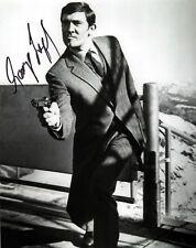 George Lazenby signed 8x10 James Bond photo / autograph
