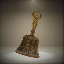 Zap Impex® Tibetan Hand Bell Meditation & Prayer Bells Dorje Vajra 4 Inch