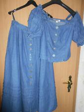 Trachtenkleid / Jeans / 2-teilig / Alphorn / Größe 44/46