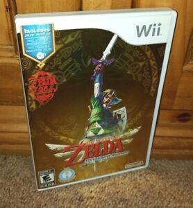 RARE Nintendo Wii Legend Of Zelda Skyward Sword w/ Soundtrack 100% COMPLETE NM
