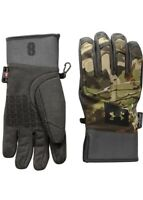 Under Armour Mens Size Small Mid Season Windstopper Hunt Gloves #1318575 940 NWT