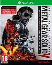 METAL GEAR SOLID V PHANTOM PAIN DEFINITIVE EDITION PER XBOX ONE NUOVO!!!