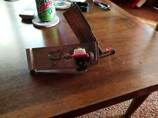 Vintage Swing- Away Can Opener Wall Mount, Red Handle Nice