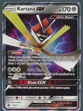 KARTANA GX 70/111 -CRIMSON INVASION Pokemon Card- HOLO-ULTRA RARE-MINT