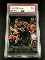 GIANNIS ANTETOKOUNMPO 2013 PANINI #194 ROOKE RC PSA 9 MILWAUKEE BUCKS NBA (B)