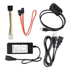 UNIVERSAL USB 2.0 to IDE/SATA Adapter Converter Cable line for Hard Drive black