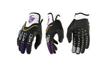 GUANTI MOTO ENDURO CROSS THOR FLOW PURPLE VIOLA GLOVE TG M