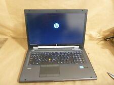 HP EliteBook Workstation 8770w intel i7-3610Qm @ 2.30GHZ / 8GB RAM * NO HDD * *