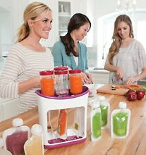Infantino Squeeze Station - 1 squeeze station, 3 tubes, 1 press and 10 pouches