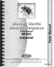 Massey Ferguson 50C Industrial Tractor Parts Manual