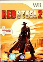RED STEEL 2 Wii NEUF SOUS BLISTER D'ORIGINE VERSION FRANÇAISE