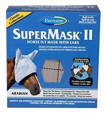 ENGLISH OR WESERN ARABIAN COB SIZE HORSE FARNAM FLY SUPER MASK WITH EARS