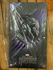 Marvel Hot Toys BLACK PANTHER MMS 470 1/6 New Avengers Infinity War NO RESERVE!