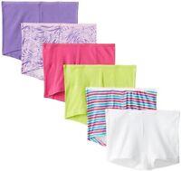 Hanes Womens Panties Boyshort Panty SZ  (Pack of 6)- Pick SZ/Color.