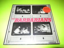 SEALED THE BARBARIANS - SELF TITLED LP RHINO GARAGE ROCK W/ HYPE STICKER