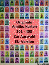 ANIMAL CROSSING ORIGINALE amiibo carte serie 4 SELEZIONE NR 301-400 EU-versione