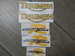 Stickers Decals Triumph Street Triple R 2009-2012 set kit