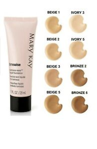 One MARY KAY BEIGE #7 LUMINOUS WEAR LIQUID FOUNDATION~DISCONTINUED