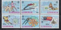 Liberia 1976  Sc 727-732 WINTER Olympics  complete mint never hinged
