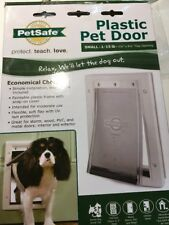 Door Flap Pet Gate Cat Doggie Safe Wall Entry Patio Enclosure See Details