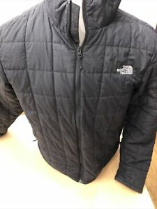 The Northface Adult Mens Quilted .large Black Coat. Beautiful! No Reserve!!!!!!!