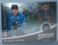 2016-17 Upper Deck MVP #324 NHL Territory Joe Pavelski San Jose Sharks