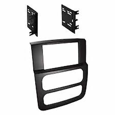 Scosche High Grade Dash Kit Dodge Ram 2002-2005 Double DIN Stereo Install Black