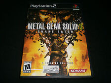 """Metal Gear Solid 3: Snake Eater """"Great Condition"""" (PlayStation 2) Complete"""