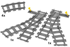 Lego  Eisebahn Weichenset 7895