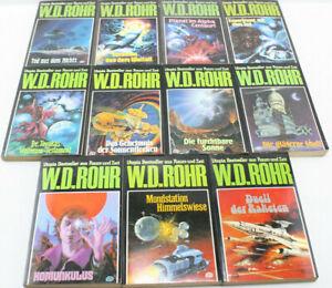 Phantastische Sammlung Utopia Bestseller aus Raum und Zeit von W.D.ROHR 12 Stück
