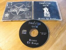 DODHEIMSGARD kronet til konge CD Rare 1st Press Malicious MR006 |Aborym|
