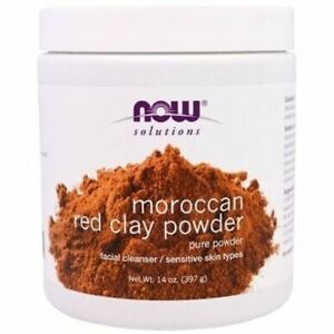 NOW MOROCCAN RED CLAY POWDER 14oz
