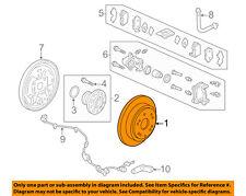 HONDA OEM 05-10 Odyssey Rear Brake-Rotor 42510SHJA00